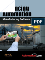 Advancing Manufacturing Automation Software