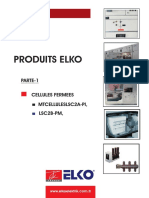 ELKO MME Metal-Enclosed Cubicles Catalogue ( French Language )