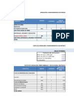 Evaluacion economica CACHUY
