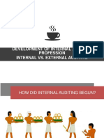 Development of Internal Auditing Profession