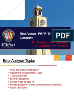 Error Analysis Presentation 2019