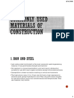 3. Commonly Used Materials of Construction