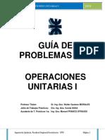 Guía de Problemas 2018 Operaciones Unitarias I