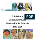 19-20 third grade program of studies