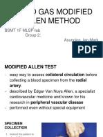 Allen Method