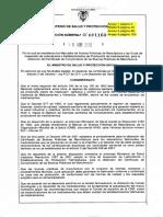 Resolución 1160 de 2016 (Adopta Guias BPM 37 y 45)-1