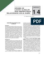 Capitulo14 - Síndromes de Hipoventilación Alveolar y Transtornos Respiratorios Relacionados con el Sueño.pdf