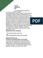 Manual - Fonendoscopio Littmann II