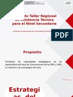 2 Estrategias del área de Comunicación.pptx