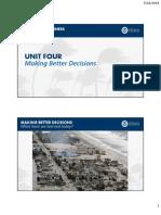 Unit4 Better Decisions L311 2018