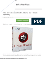 IObit Driver Booster Pro 660 Serial Key + Crack [Updated]