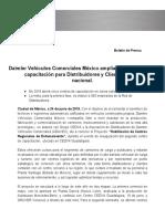 Dvcm Amplia Programa de Capacitacion Para Distribuidores y Clientes a Nivel Nacional