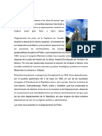 Historia Del Petén y Lago