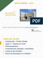 PPT 1.1 - Concreto Armado UPN
