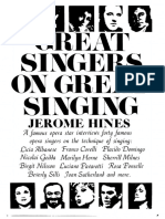 Great singers on great singing - Jerome Hines