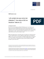 Do You Really Think We Are So Stupid - A Letter to the CEO of Deutsche Telekom (C)