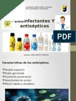 Desinfectantes y Antisepticos