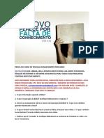 PROVA DO CURSO DE TEOLOGIA - CONHECIMENTO PROFUNDO.docx