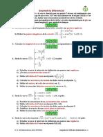 Problemas Geometria Diferencial
