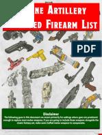 Arcane Artillery - Firearms