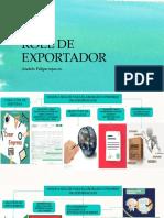 Roll de Exportador Mapa Conceptual Afr