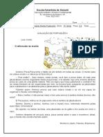 Avaliação de Português II