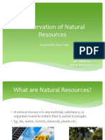 Steps to Save Natural Resources