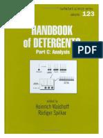 Handbook of Detergents, Part C Analysis (Surfactant Science Series Vol 123)(Marcel Dekker, 2005).pdf.PDF
