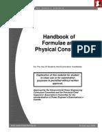 GENERAL ENGINEERING Handbook of Formulae_and Constants PDF