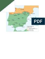 Mapas de España en la Edad Media