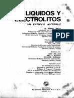 Liquidos y Electrolitos Dr. Kinsey Smith