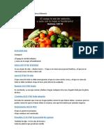 36 Versículos de La Biblia Sobre El Alimento