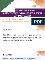 Fecha 27-28 Agosto 2019 Inteligencia Emocional Autoconocimiento Autoregulacion Automotivacion