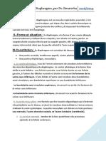 Le Diaphragme, Par Dr. Bourooba.