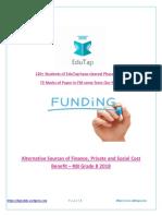EduTap finance notes