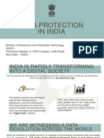 6.Data Protection in India