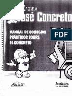 Cartilla José Concreto