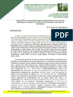 Evaluación de La Efectividad Biológica de Biodes Nema en El Control de Meloidogyne Incognita en El Cultivo de Chile Bell Bajo Condiciones de Invernadero
