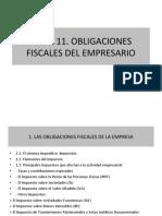 Tema 11. Obligaciones Fiscales Del Empresario (2)
