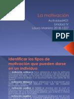 Diapositiva de La Actividad #01 Unidad IV