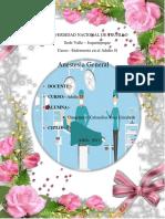 Anestesia General Informe
