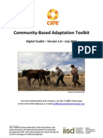 Community-Based Adaptation to Climate Change Toolkit