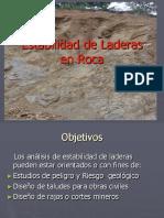Estabilidad en Aderas de Roca 2018 (1)