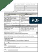 Formato de Control de Inducción OHSAS