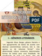 Estudo Teológico - Gêneros e Figuras de Linguagem - 22-08-2019