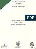 Conformación socio-espacial de Guadalajara, 1910 - 1990