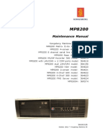 MP8200 Maintenance Manual 366813B -- 44 pag.pdf