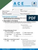 Military Acute Concussion Evaluation Pocket Card Feb2012
