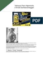 5 Métodos Valiosos Para Hipertrofia Usados Por Arnold Schwarzenegger