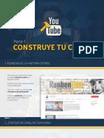 construye tu canal de youtube